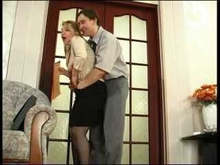 Wife Attacked And Hard Fucked First Day At Work