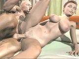 3D hentai girl hard fucked a bigcock