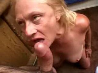 Blonde Granny Fucked  In The Office