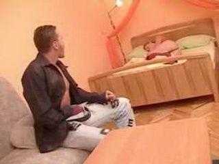 Dirty guy Found Sleeping Girl In His Bedroom