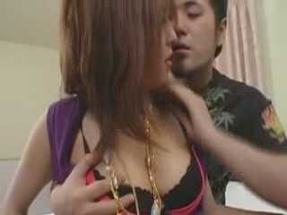 Horny Busty Japanese Slut Changing Fuckers
