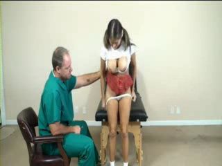 Horny Schoolgirl Get Full Body Inspection