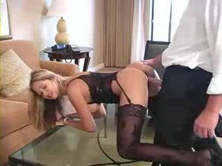 Busty Blond Milf Fucked By Room Service