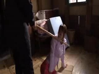Japanese Girl Had No Chance To Escape From Crazy Step Moms Nephew