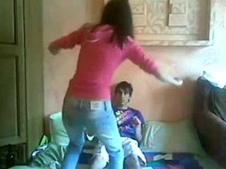 Cute Teen Fucks Her BF On The Floor