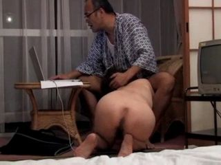 Guy Talks With Friend On Skype While Friend's Wife Sucks His Cock