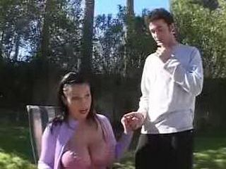 Pool Guy Spots Topless Chick And Gets Fuck With Her