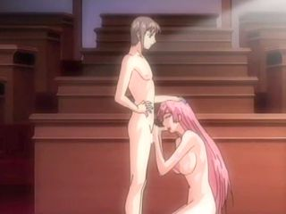 Redhead hentai oralsex and received cumshot all body
