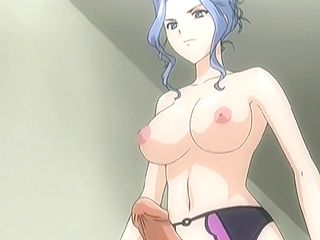 Busty hentai nurse hard fucked by shemale doctor anime