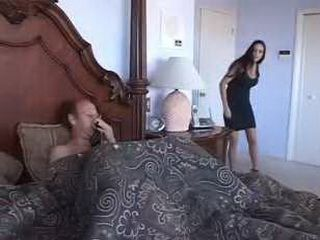 Wife Catch Husband Jerking On Her Panties