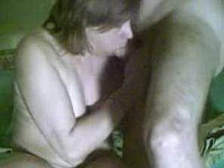 Horny mature gets her ass fucked and creampied
