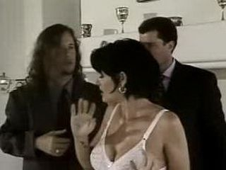 Brunette Milf Get It From Two Bodyguards