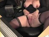 Saggy Tits Mature Plays With Big Nipples And Huge Erected Clitoris