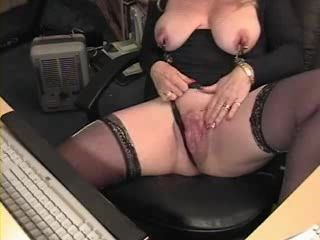 Hot milf big tits exposed on live cam