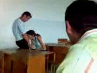 Turkish Girl Stutend Oral Sex In The Classroom