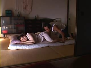 Sleeping Housewife Reiko Yamaguchi Forced To Fuck By her Brother In Law