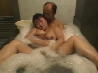 Japanese Amateur Chubby Mature Wife Gets Fucked in a Jacuzzi and Suffers Some BDSM After