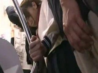 Asian Schoolgirl Abused In Public Bus