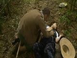 Village Cripple Woman Knocked Down And Fucked In Woods - Fuck Fantasy