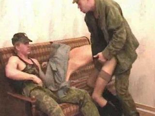 Skinny Hooker  Fucked By Two  Soldiers