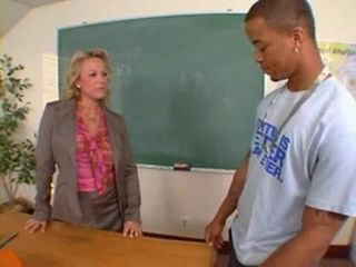 Bad Black Student Pays Better Grades With hard Anal Fuck of his Mature Teacher Stunning Summer