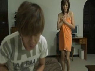 Step Mother Catches Step Son Masturbating On Her Panties