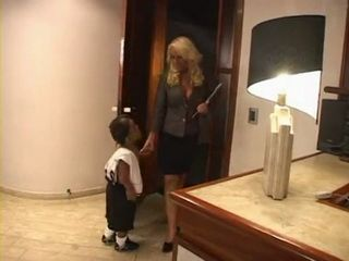 Little Midget Fucks Hot Blond Milf