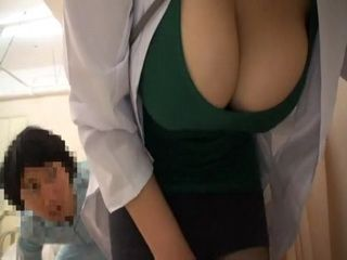 Busty Milf Doctor Groped By Her Teenager Patients at Hospital