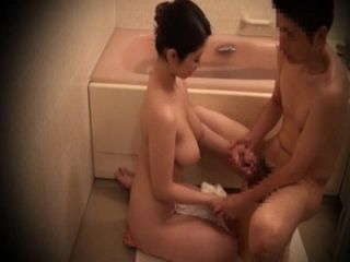 Step Mom Taking Bath With Step Son
