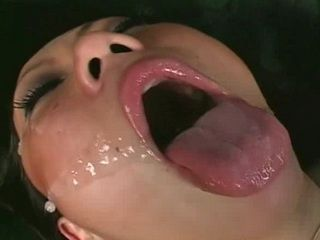Dirty Asian Cum Facial