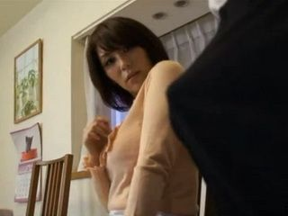 Step Mother Chisato Shoda And Her Step Son With Boner