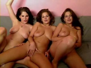 3 Twin Sisters Nude Webcam Show