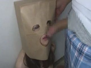 Paper Bag Face Fuck