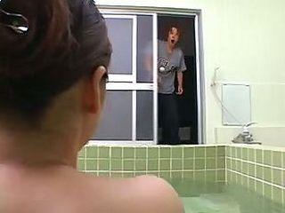 Spa Surprise Busty Milf Stepmom Reiko Yamaguchi
