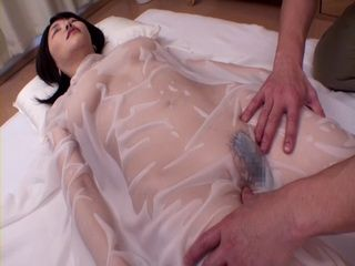 Busty Anri Okita Hot Oil Massage and Sex