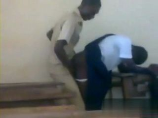 Kongo Teacher Busted Fucking Student Girl at Classroom