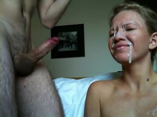 Mind Blowing Facial Cumshot