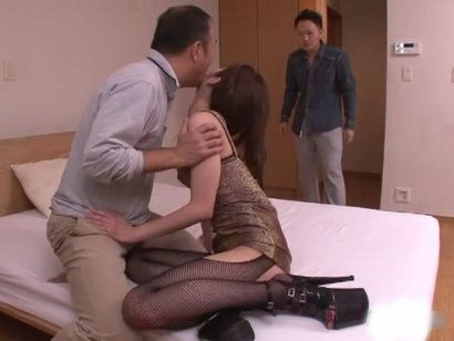 Jealous Son Catches Father With His Hot Private Teacher Aizawa Koi