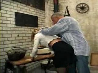 German Milf Gets Forced On Fuck In the Vine Cellar