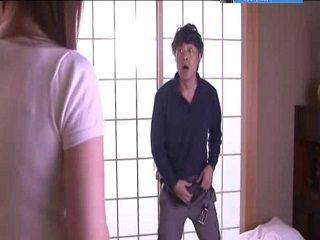 Caught Masturbating By Stepdaughter - Ramu Hoshino [JUX-046]