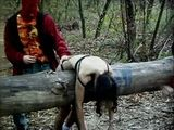 Brutal Gang Fuck In The Woods - Mainstream Movie Scene