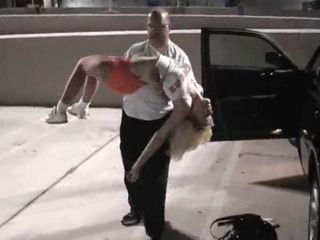 Hooters Girl Chloroformed On Parking Lot By Demented Stalker And Kidnapped