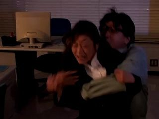 Temporary Blinded Office lady Gets  Fucked By Janitor