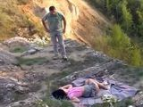 Sleeping Teen In Mountain Wilderness Gets Fucked By Guy