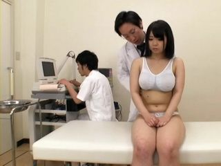 Aimi Irie Gets Fucked By Doctor at Breast Exam