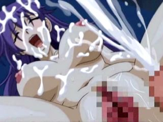 Busty hentai hot sucking cock and wetpussy fucking