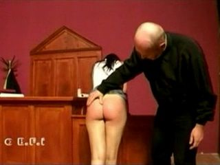 Spanked In The Court xLx