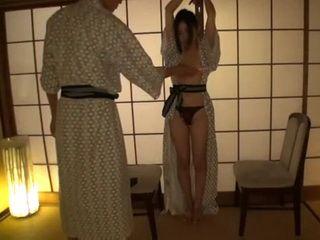 Handcuffed Teen In Kimono Aisa Fujii Late Night Fuck