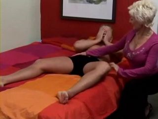 Mature Blonde Mom Took Advantage Of Teen Boy