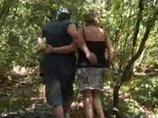 Granny Gets Fucked Hard Deep In the Woods